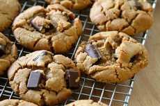 resep kukis selai kacang coklat