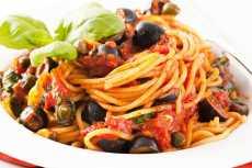 resep spaghetti puttanesca