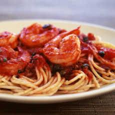 resep spaghetti saus udang