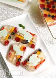 resep fruit terine stroberi