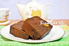 resep Brownies Kukus Ubi Nangka