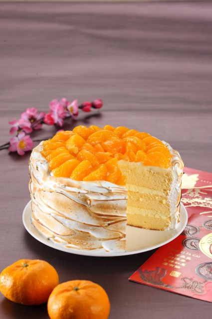 resep cheese cake jeruk mandarin