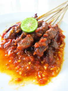 Resep Sate Plecing
