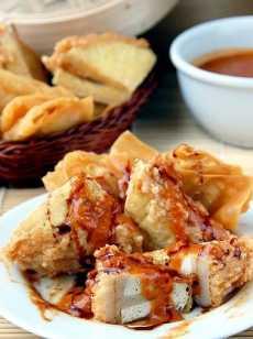 Resep Batagor Saus Kacang