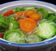 Resep Sup Oyong