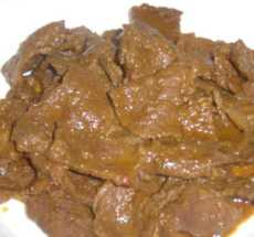 Resep Terik Daging