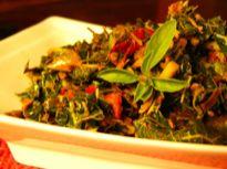 Resep Tumis daun Pepaya Ikan Tongkol