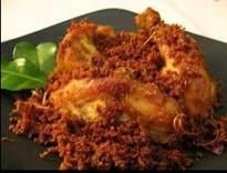 Resep Ayam Goreng 'serundeng' Lengkuas