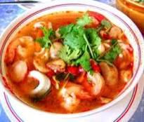 resep sup seafood rempah