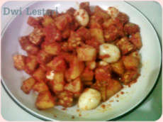 resep sambel goreng tempe dengan telur puyuh