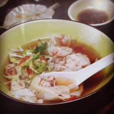 resep sup pangsit teh hijau