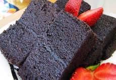 resep brownies ketan hitam