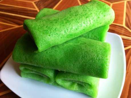 resep dadar gulung hijau